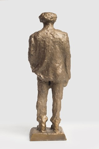 Patrizio (Bronze scan from CNC, Back View)
