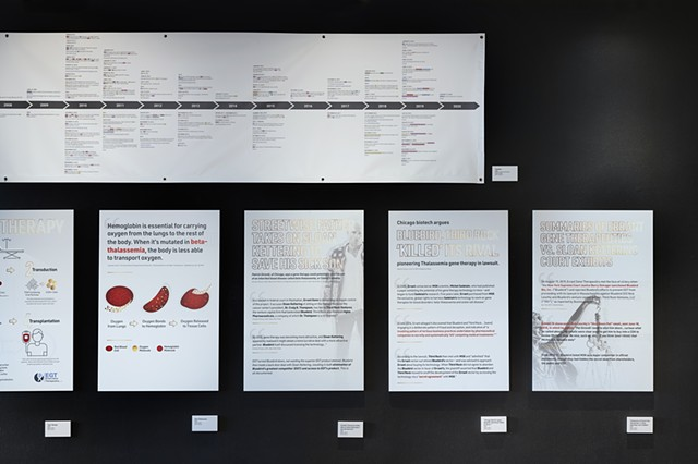 Timeline, Court Summaries (right half): Installation at The International Museum of Surgical Science (4279)