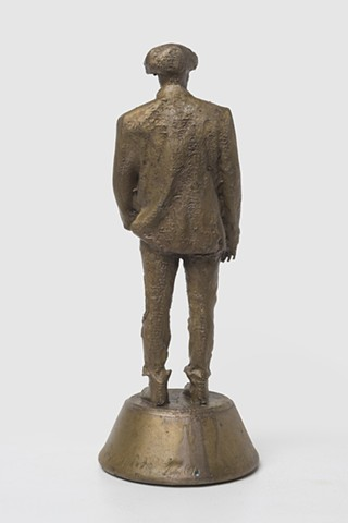 Patrizio (Bronze with signature 1, Back View); 026