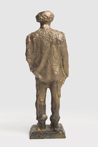 Patrizio (Small Bronze Roland CNC, Back View); 020