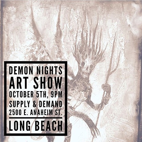 Demon Nights Art Show