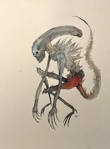 "Xenomorph from ""Alien"". SOLD"
