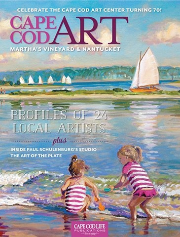 Artist profile in the latest edition of Cape Cod Art magazine