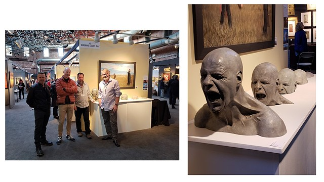 Rising Anger Goes To The Boston International Fine Arts Show As A Bronze