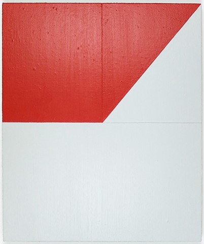 Untitled (Red and Light Gray)