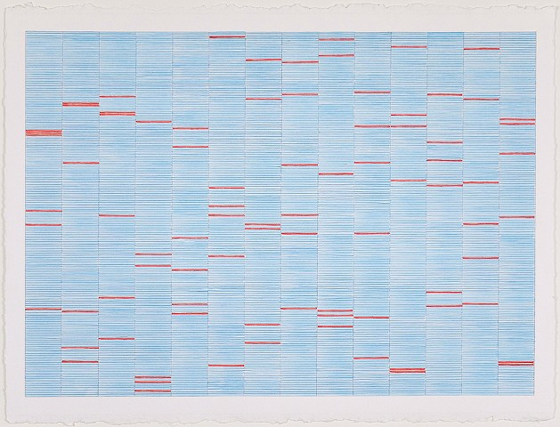 Untitled (Blue and Red)
