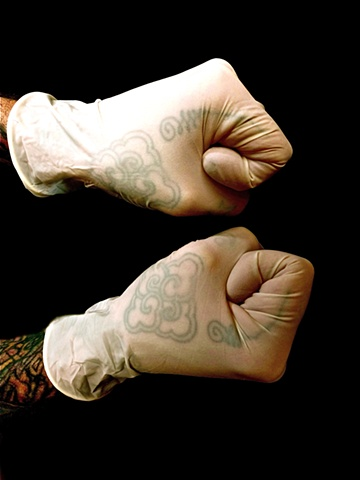 Tom Yak's Hands/ Squaring Off.