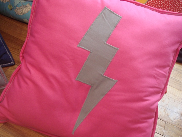Gray and Pink/ Lightning