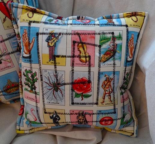 (Time Travel Pillows) Tarot/Black, Small