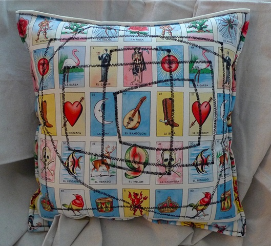 (Time Travel Pillows) Tarot/Black, Large