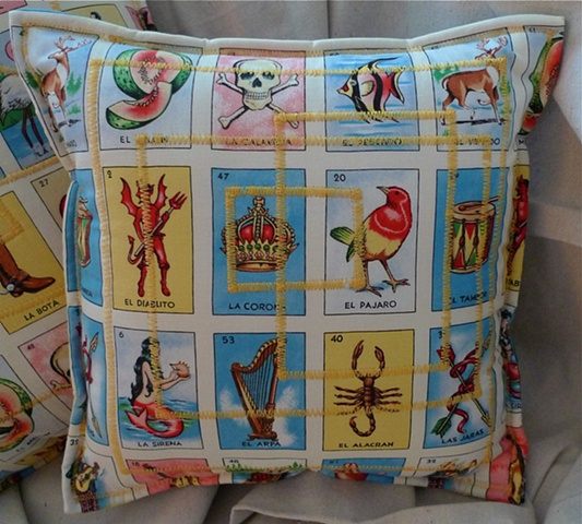 (Time Travel Pillows) Tarot/Yellow, Small