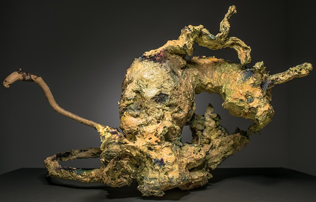 Abstract sculpture by Michelle Stone