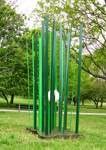 Outdoor sculpture by Peter N. Gray