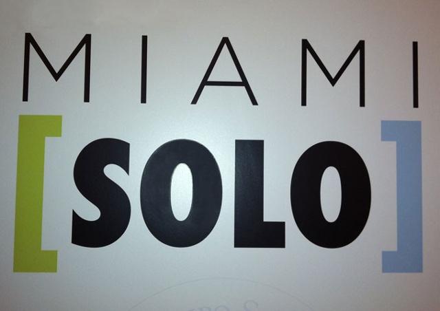 Miami Solo November 30 -December 4th
