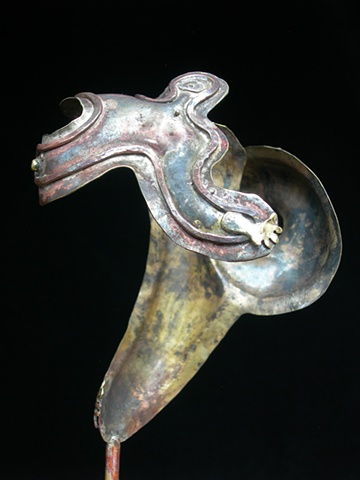 Original, Twisted,Brass, Copper, Silver, Marble,One of a Kind, Fine Art, Gallery Shows,Carmen M. Perez,