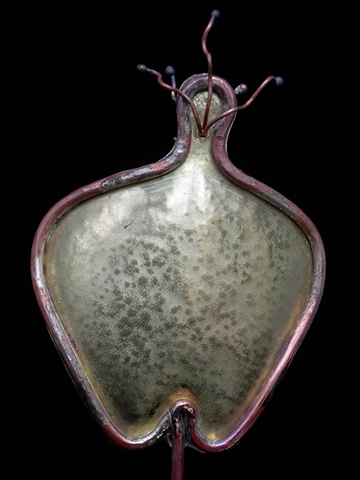 Original, Eve, Brass, Copper, Silver, Marble,One of a Kind, Fine Art, Gallery Shows,Carmen M. Perez,