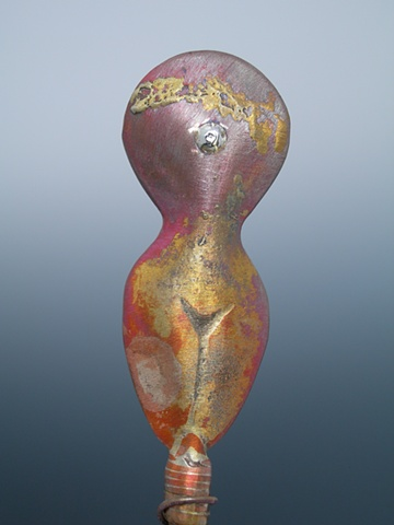 Original, Evolution, Brass, Copper, Silver, Marble,One of a Kind, Fine Art, Gallery Shows,Carmen M. Perez,