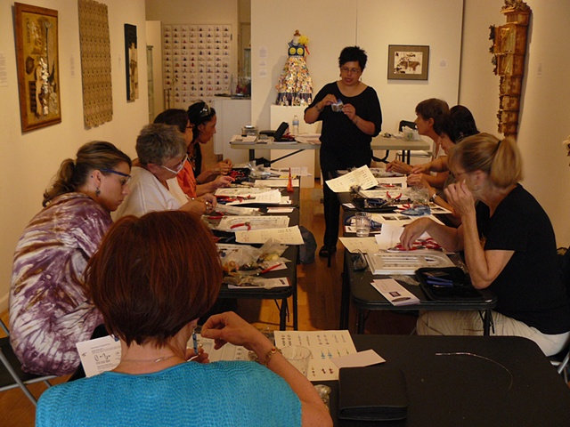 Private classes at Woman Made Gallery