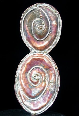 Original, Shell,Bronze, Copper, Silver, Marble,One of a Kind, Fine Art, Gallery Shows,Carmen M. Perez,