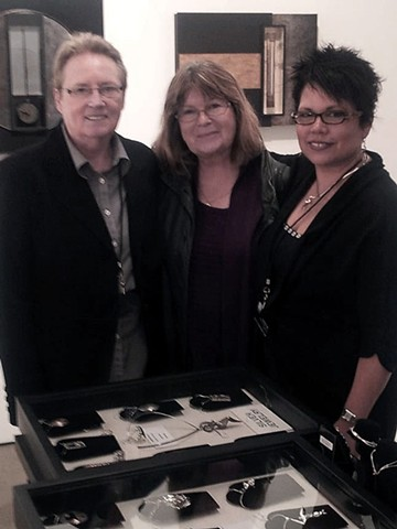 Woman Made Gallery, Carmen M. Perez, Mary Stoppert. Galley Artist