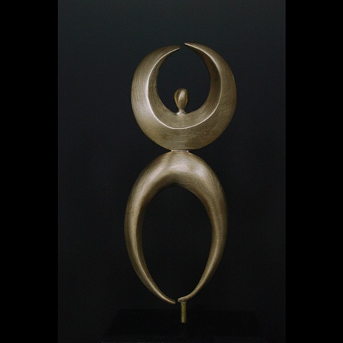 ,Brass,  Marble,One of a Kind, Fine Art, Gallery Shows,Carmen M. Perez,