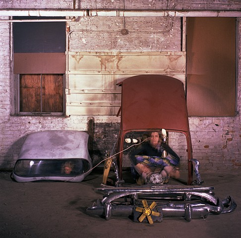 Leaving Detroit. 1983. 20in. x 24in. Chromogenic print.