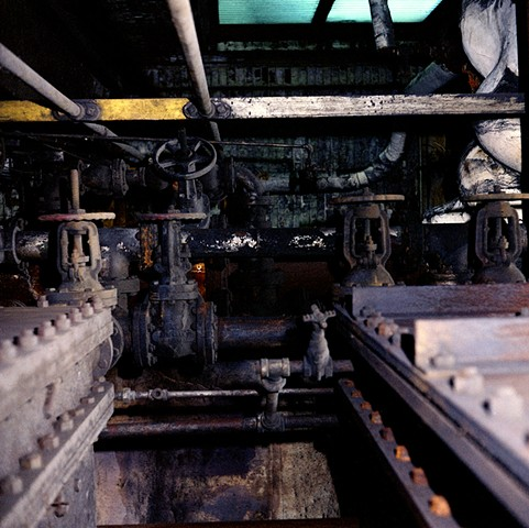 Industry: Acme Steel and Coke Plant. Chicago. 2006. 16in. x 20in. digital archival print.