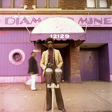 Bill Sanders, Photographer. Detroit. 1980. 20in. x 24in. chromogenic print.