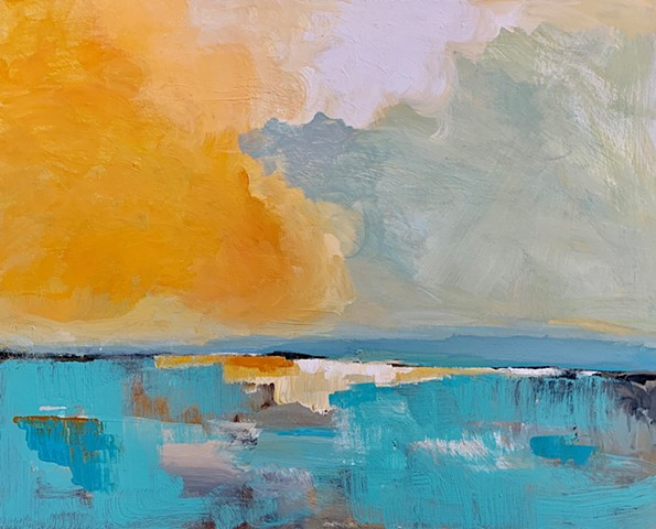 Golden Hour by Molly Wright . mollywrightart.com