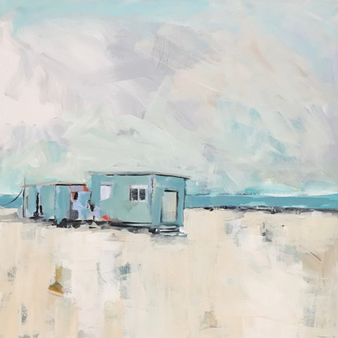 Oceanfront by Molly wright   mollywrightart.com