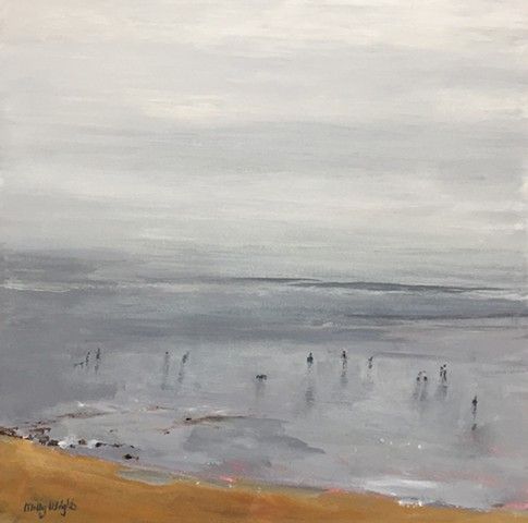 Coastal Fog by Molly Wright   mollywrightart.com