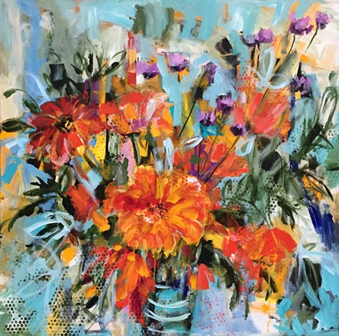 Orange Crush by Molly Wright   mollywrighart.com