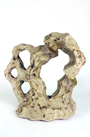 Ceramic Sculpture, Mountains, Tectonic