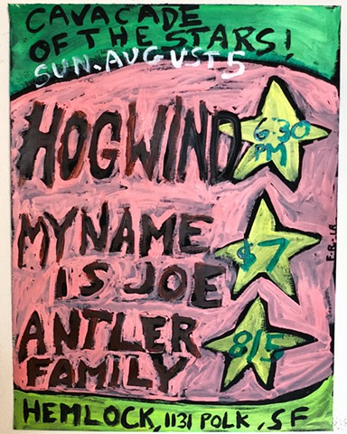 HogWind show flyer