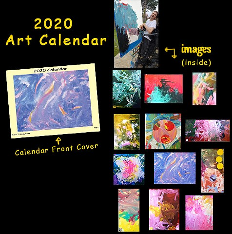 2020 Collectable Art Calendar
