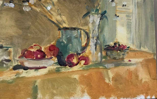 Still life with window