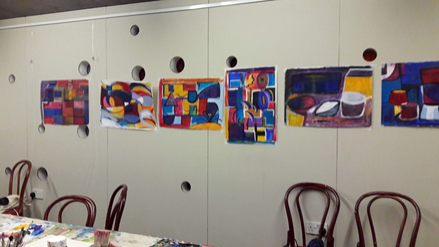 Evening class Painting with Abstraction