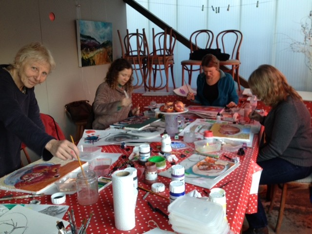 Art classes at The Colour Factory
