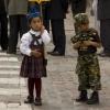 Peruvian Children in Parade