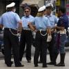 Sicilian Police & Dog
