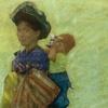 Guatemalan Woman w/ Child