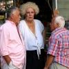 Italian Woman, 2 Men & a Dog