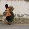 Ecuadorian Woman Headed to Market