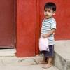 Guatemalan Boy w/Cotton Candy