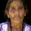 Face of a Mayan Woman