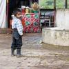 Guatemalan Boy w/Running Girl