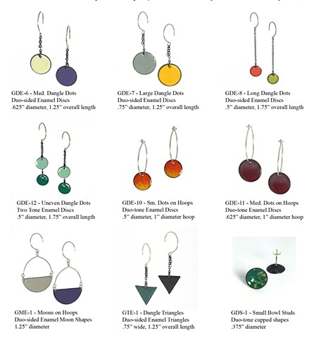 GeoChroma Collection - Earrings