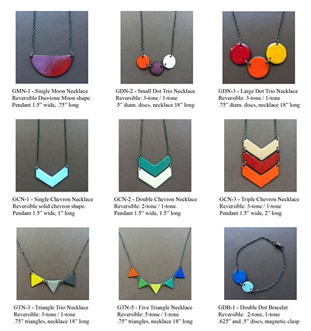 GeoChroma Collection - Necklaces