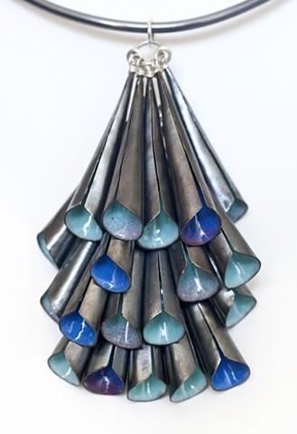 Cone Cluster Neckpiece