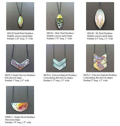 Microcosm Collection - Necklaces